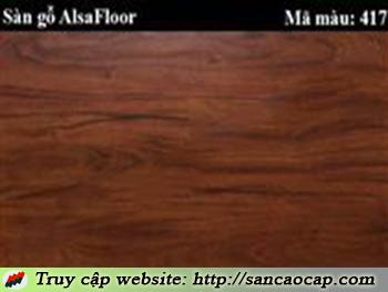 Sàn gỗ Alsafloor 417
