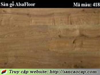 Sàn gỗ Alsafloor 418