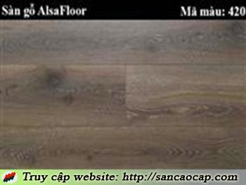 Sàn gỗ Alsafloor 420
