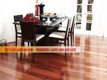 Công trình sàn gỗ công nghiệp Smartwood tại phường Láng Hạ, quận Đống Đa.