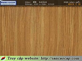 Sàn gỗ Ruby 8013