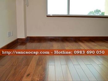 Công trình sàn gỗ công nghiệp WINEO tại phường Thái Học, t.x Chí Linh