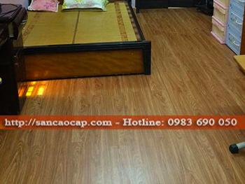 Công trình sàn gỗ công nghiệp INOVAR tại xã Đoàn Kết, huyện Thanh Miện