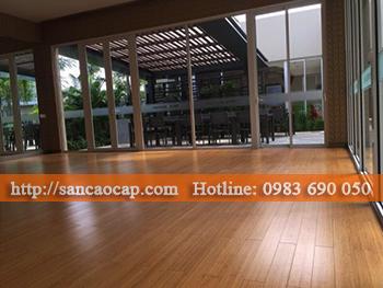 Công trình sàn nhựa GALAXY tại huyện Bình Giang, tỉnh Hải Dương