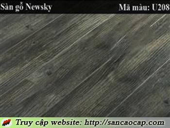 Sàn gỗ Newsky U208