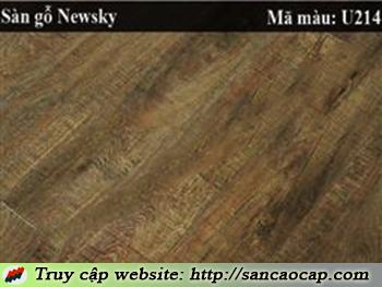 Sàn gỗ Newsky U214