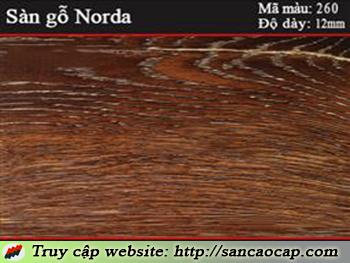Sàn gỗ Norda 260