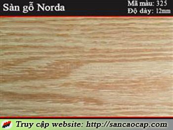 Sàn gỗ Norda 325