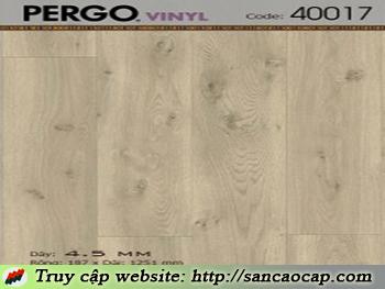 Sàn nhựa Pergo 40017