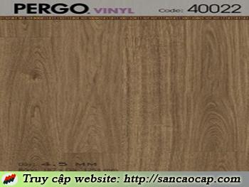 Sàn nhựa Pergo 40022
