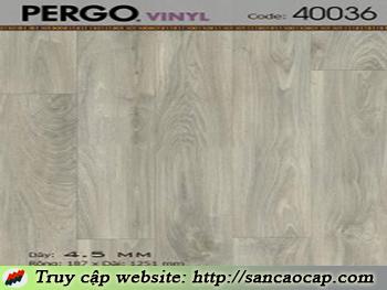Sàn nhựa Pergo 40036