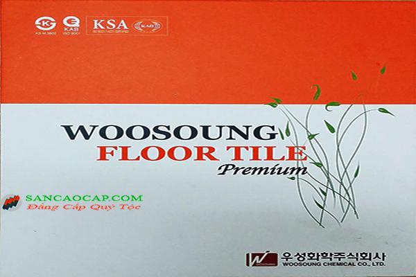 Sàn nhựa Woosoung