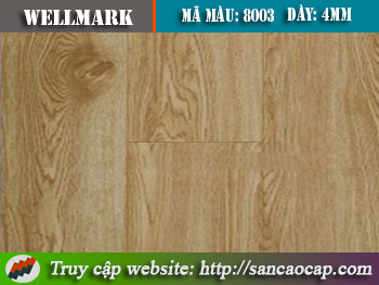 Sàn nhựa Wellmark 8003
