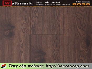 Sàn nhựa Wellmark 8036