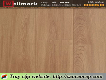 Sàn nhựa Wellmark 8058