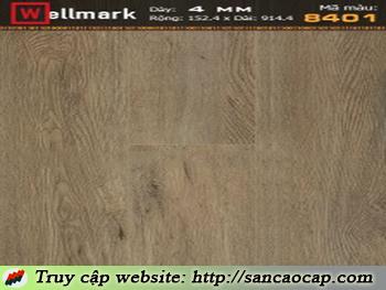 Sàn nhựa Wellmark 8401