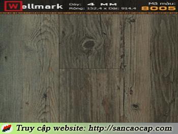 Sàn nhựa Wellmark 8005